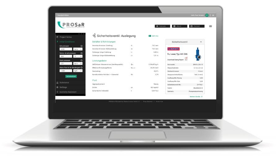 CSE PROSaR – Professional Sizing made simple